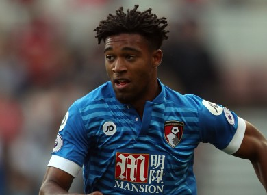 Ibe joined Bournemouth from Liverpool in the summer.
