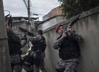 Police in Rio are facing serious budget shortfall.