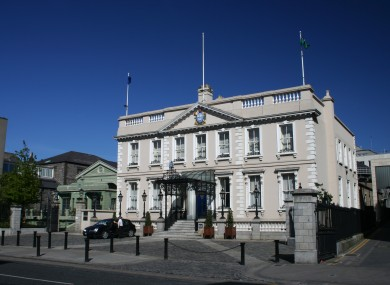 Dublin's Mansion House.
