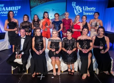 The 2016 Camogie All-Stars.