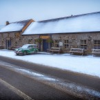 Keith Malone from Wicklow was the People's Choice in the competition with this wintery scene in Roundwood.