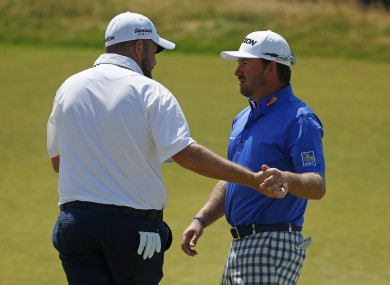 Lowry and McDowell are flying the flag for Ireland this week.