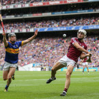 Holding Seamus Callanan scoreless from play is no mean feat. Burke's achievement in managing that for Galway in August was a feature of a season where he affirmed his standing in hurling.<span class=