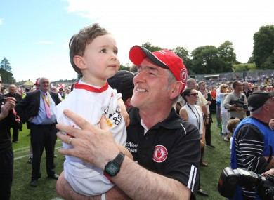 Tyrone football manager Mickey Harte.