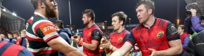 'We got our arses smacked good and proper': Leicester retreat to target Munster rematch