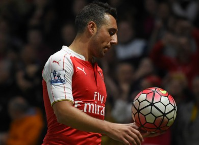 Cazorla has been a pivotal figure for Arsenal.