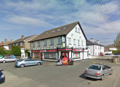 The Spar on Stiles Road where the robbery took place.