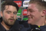 """I've never seen him before in my life:"" Tadhg Furlong laughs off bizarre interruption to his post-match interview"