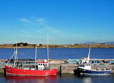 File photo: Harbour in Connemara