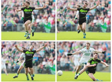 The penalty incident in last July's Mayo-Fermanagh game was raised by Páraic Duffy today.