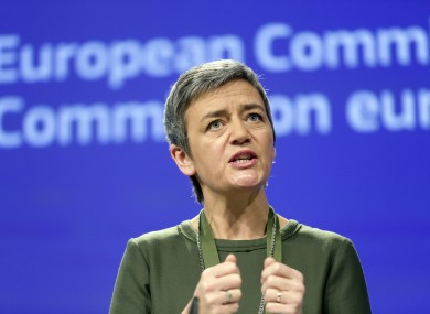 European Commissioner for Competition Margrethe Vestager will address TDs today.