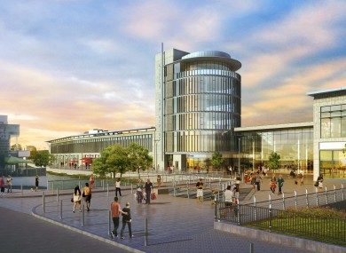 Carlow Central Shopping Centre is set to open late next year.