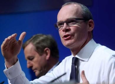 Housing Minister Simon Coveney (file photo)