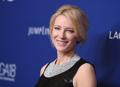 One of the stars who has endorsed the brand is Cate Blanchett.