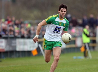 Odhrán MacNiallais won't line out for Donegal this season.