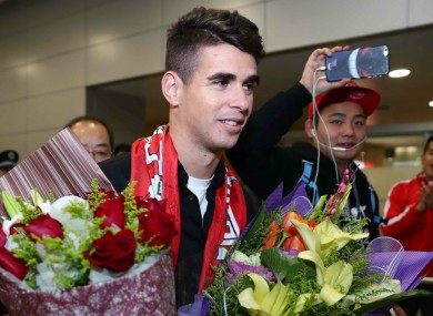 Shanghai SIPG star Oscar.