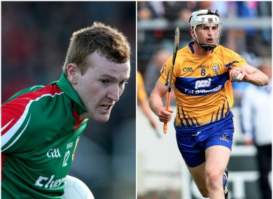 Mayo's Adam Gallagher and Clare's Conor Cleary both struck goals today for NUI Galway.