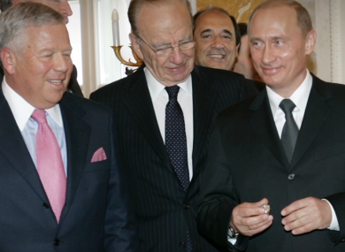 Robert Kraft never meant for Putin to keep his Super Bowl ring.