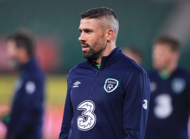 Jon Walters is considered an important player for the Irish team.
