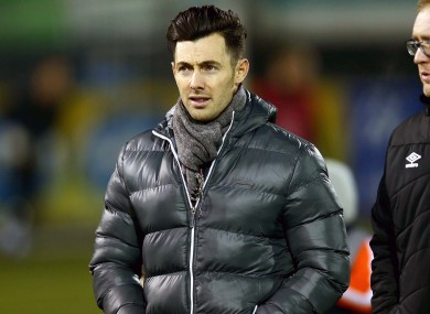 Richie Towell has struggled for game time since moving from Dundalk to Brighton.