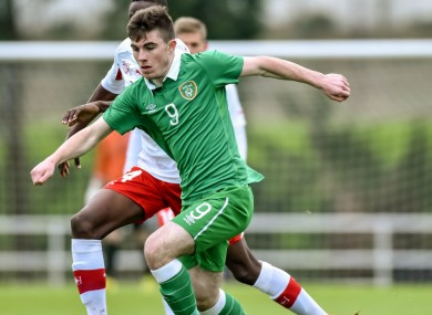 Manning is an Ireland underage international.