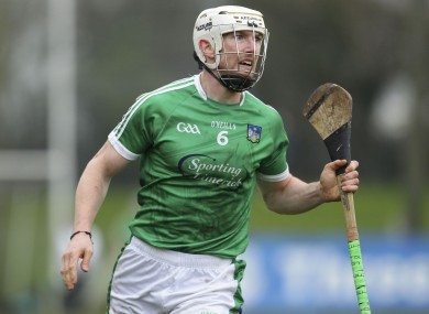 Seamus Hickey starts on the bench for Limerick tonight.