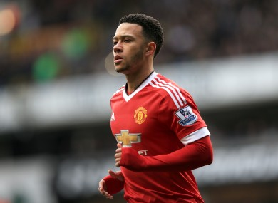 Memphis Depay may be set for the Old Trafford exit door.