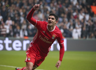 Goncalo Guedes (file pic).