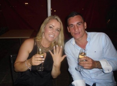 Cathrina Cahill has been charged with the murder of her fiancé David Walsh