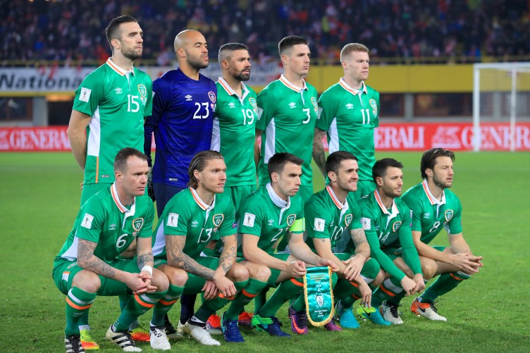 Image result for ireland national football team 2017