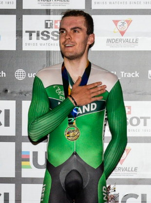 Downey has won back-to-back golds at the last two World Cup events.