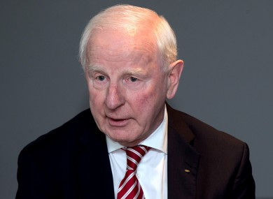 Pat Hickey's replacement will be decided on at the meeting next week.