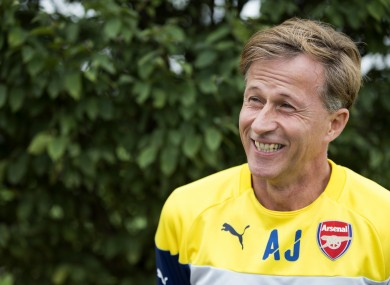 Jonker is two and a half seasons into his Arsenal role.