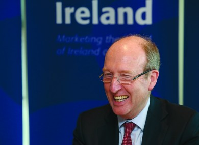 Transport Minster Shane Ross