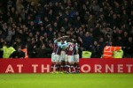 Andre Ayew ensures 10-man West Ham earn point at Watford