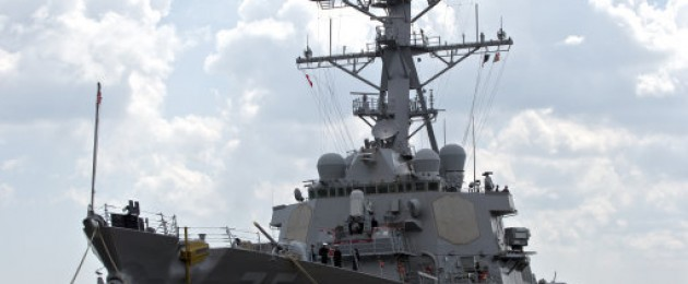 The USS Donald Cook