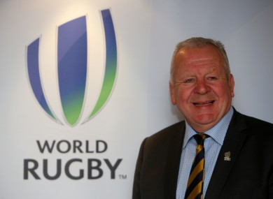Chairman of World Rugby Bill Beaumont.