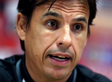 Chris Coleman (file pic).