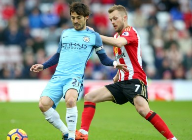 David Silva has impressed for Man City of late.