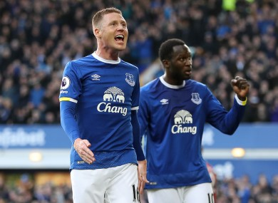 McCarthy missed Everton's win over West Brom.