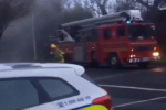 Four fire units tackle blaze at house in south Dublin