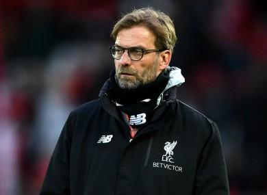 Liverpool face Man City tomorrow.