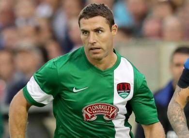Former Cork City striker Mark O'Sullivan (file pic).