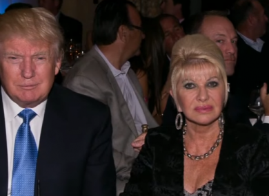 Ivana Trump had supported her ex-husband's presidential bid.