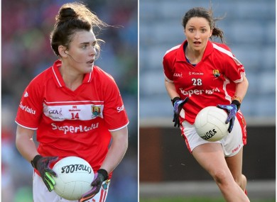 Doireann O'Sullivan and Eimear Scally both starred in the O'Connor Cup today.