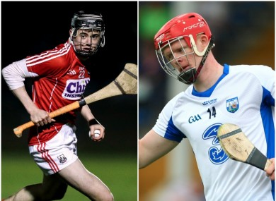 Darragh Fitzgibbon and DJ Foran are brought in to the respective Cork and Waterford teams.