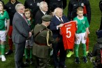 Touching scenes at the Aviva as Ryan McBride is honoured by Ireland and Wales alike