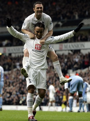 The duo played alongside each other at Spurs for two years.