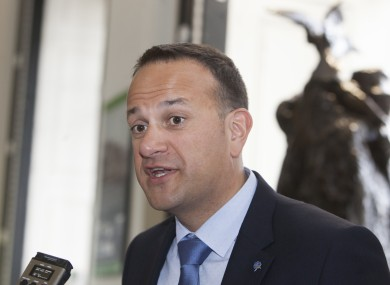 Minister for Social Protection Leo Varadkar.