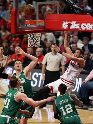 Bulls and Celtics: Chicago lead 2-1, with Game 4 to come on Sunday night.